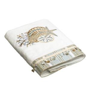 полотенце с морской вышивкой