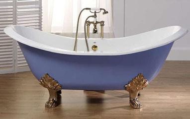 Акриловая роспись в ванной